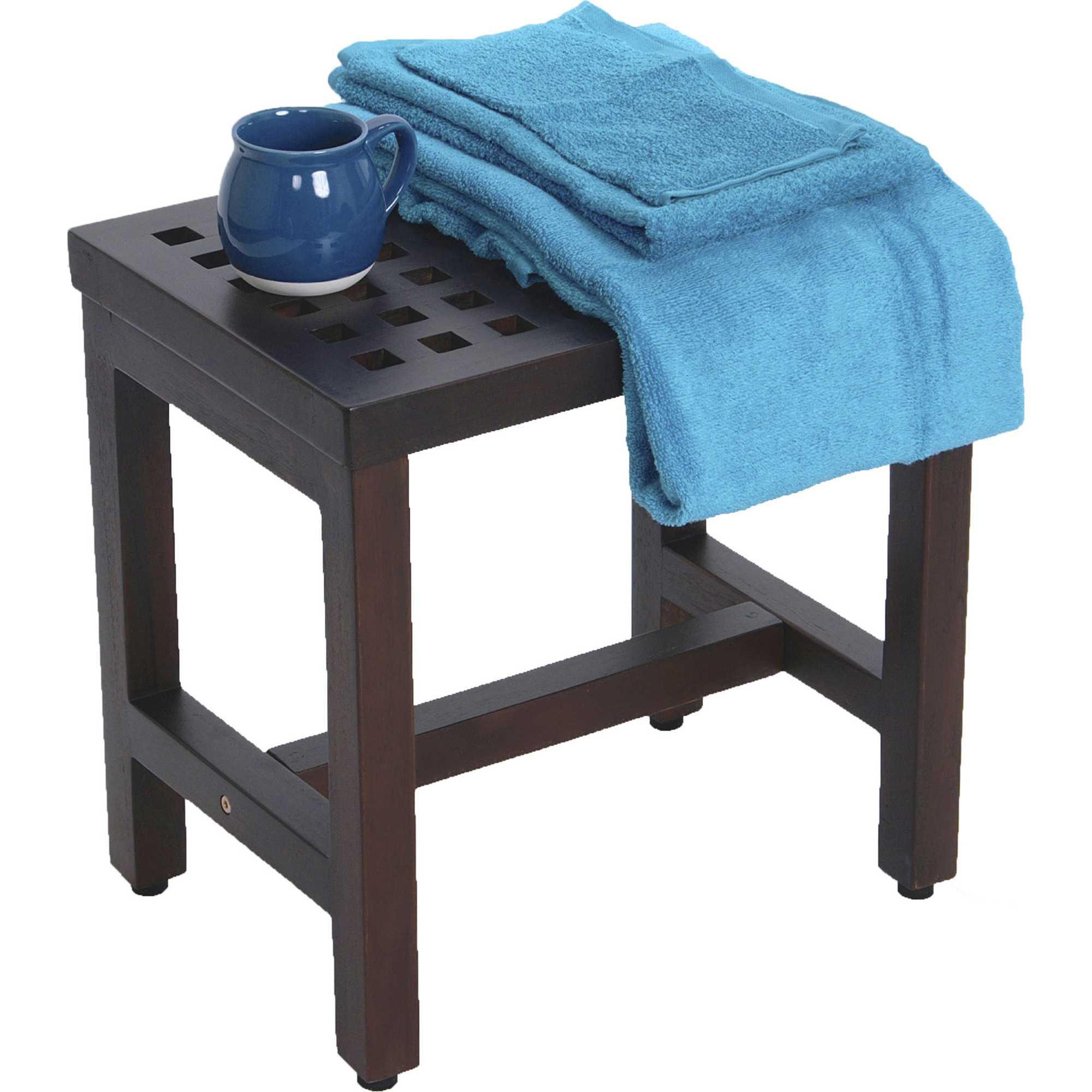 Water Resistant Teak Bench