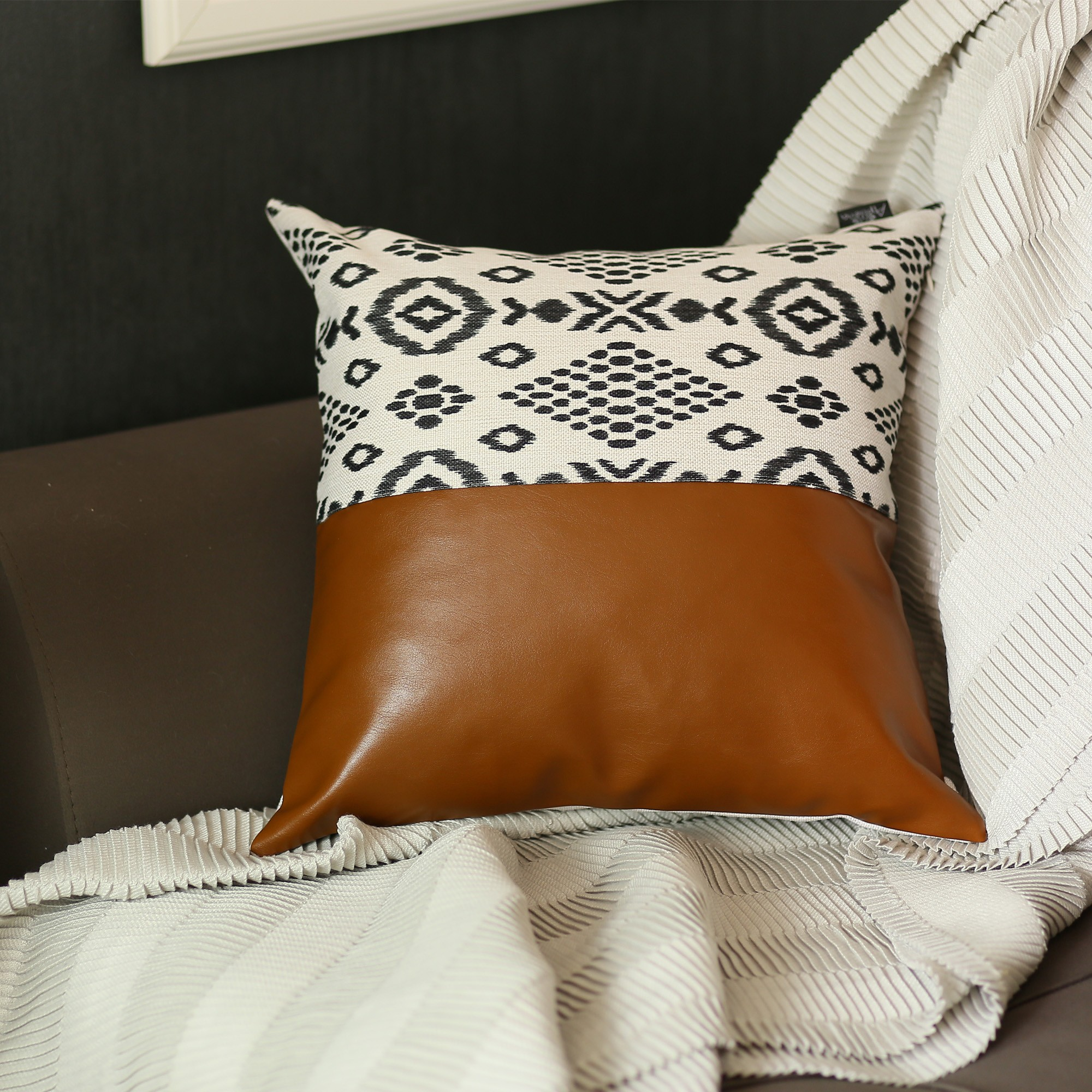 Chic Faux Pillow Covers
