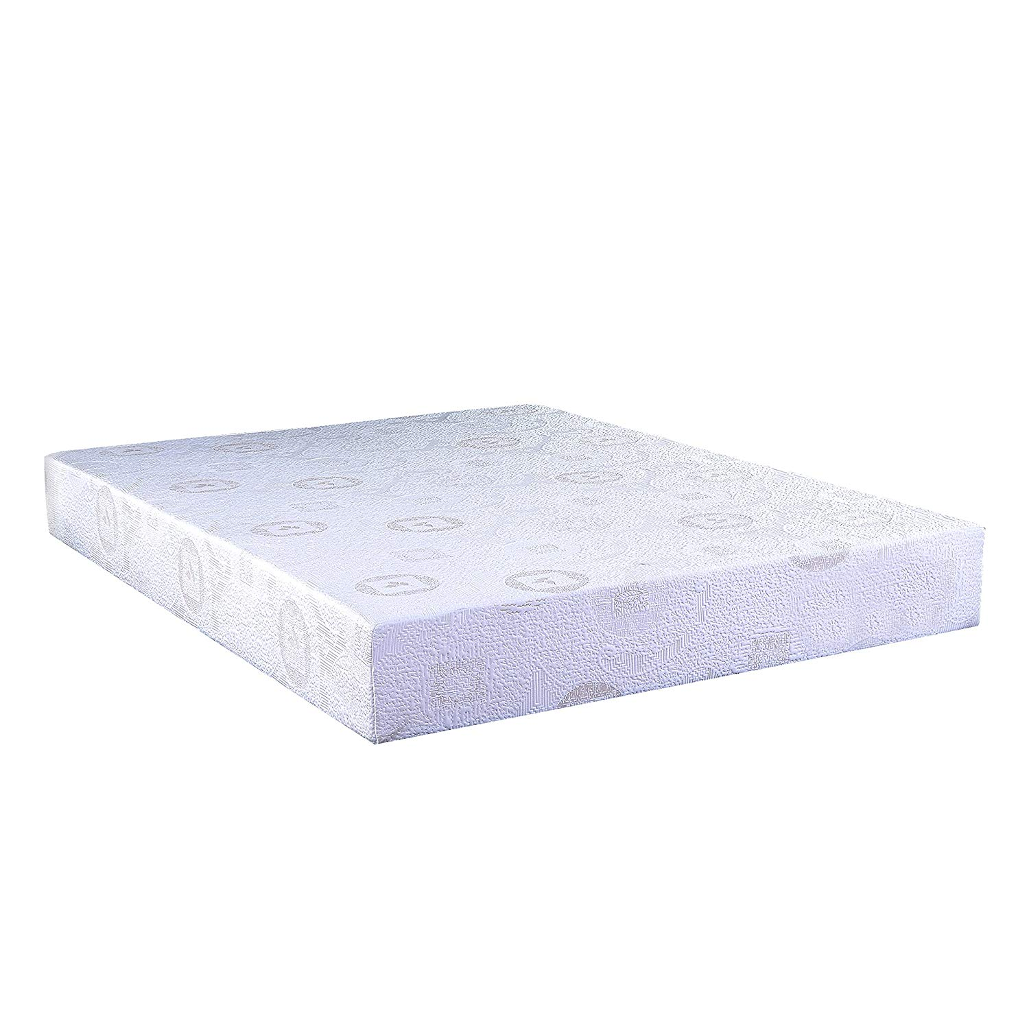 "8"" Full Green Tea Infused Polyester Memory Foam Mattress"