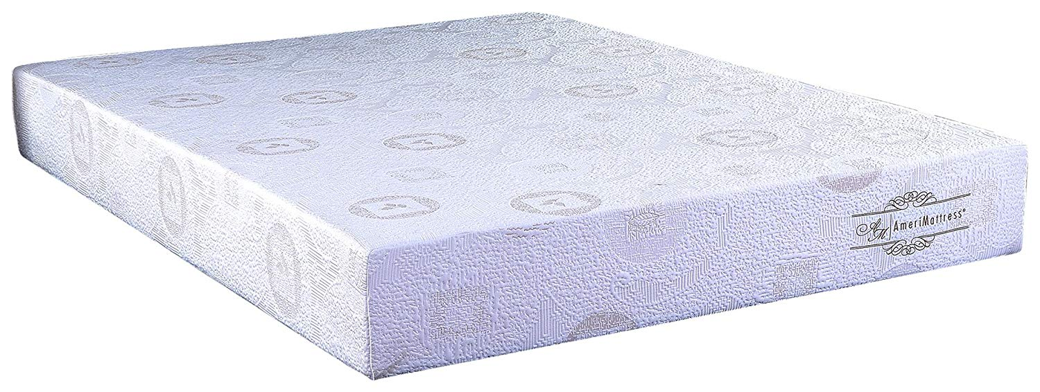 "10"" California King Green Tea Infused Polyester Memory Foam Mattress"