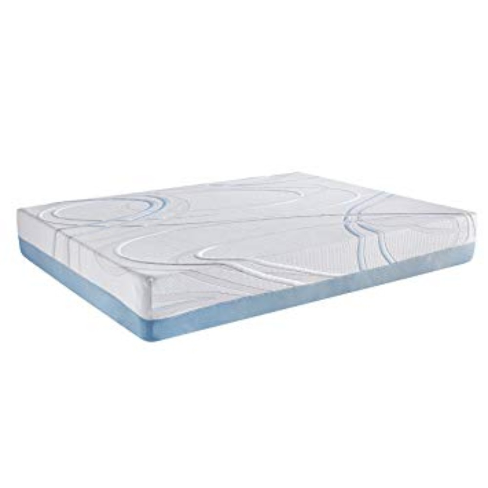 "12"" Queen Charcoal and Gel Infused Memory Foam Mattress"