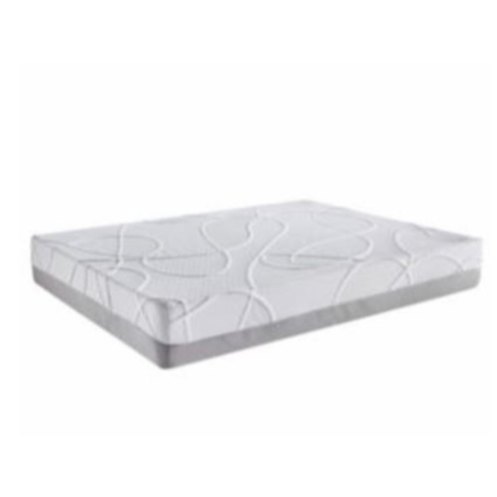 """12"""" Queen Green Tea and Bamboo Charcoal Infused Polyester Memory Foam Mattress"""