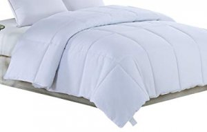 White Medium Weight Hypoallergenic Twin Down Alternative Comforter Duvet insert