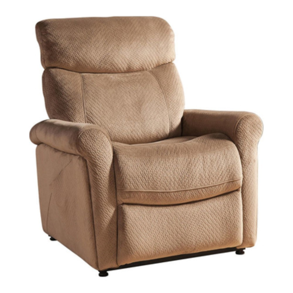 Brown Transitional Select Hardwood Power Reclining Lift Chair