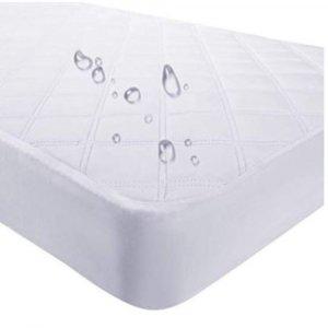 "9"" Waterproof Bamboo Terry Crib Mattress Pad Liner Mattress Cover Only"