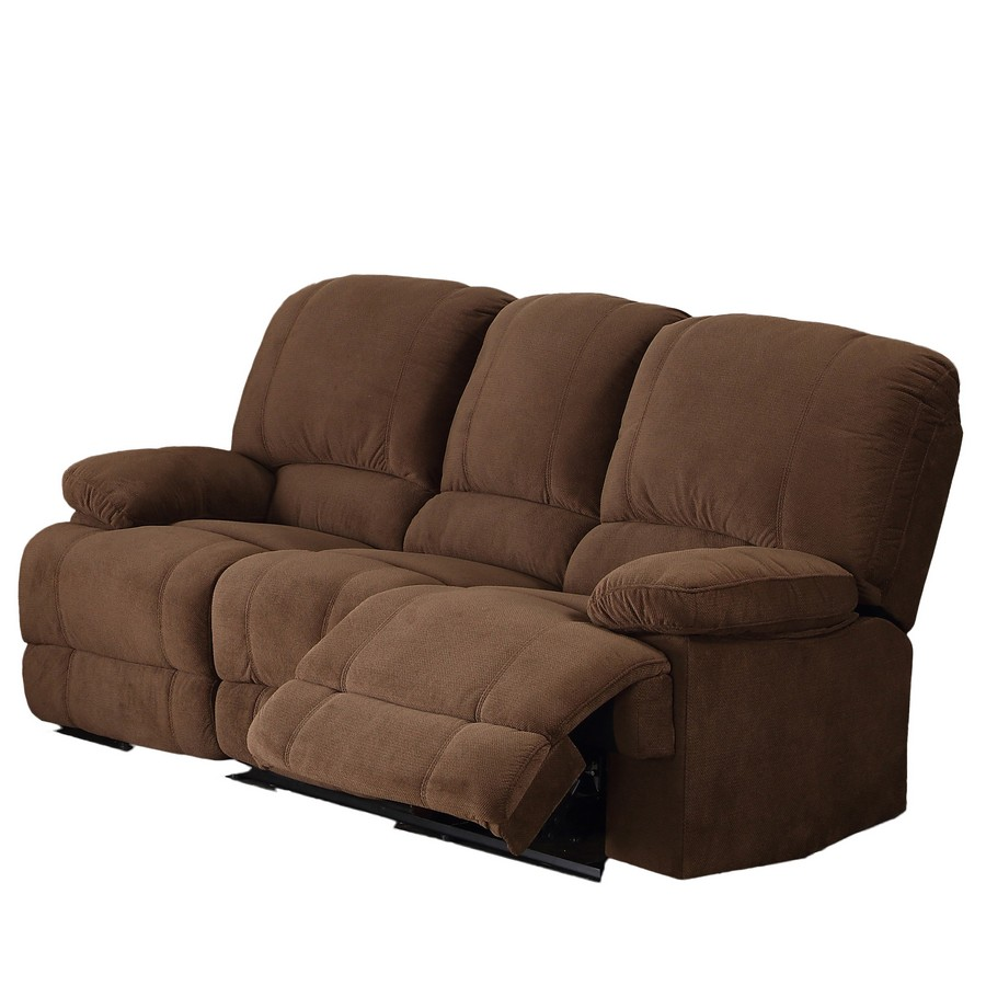 Brown Select Hardwoods Reclining Living Room Sofa