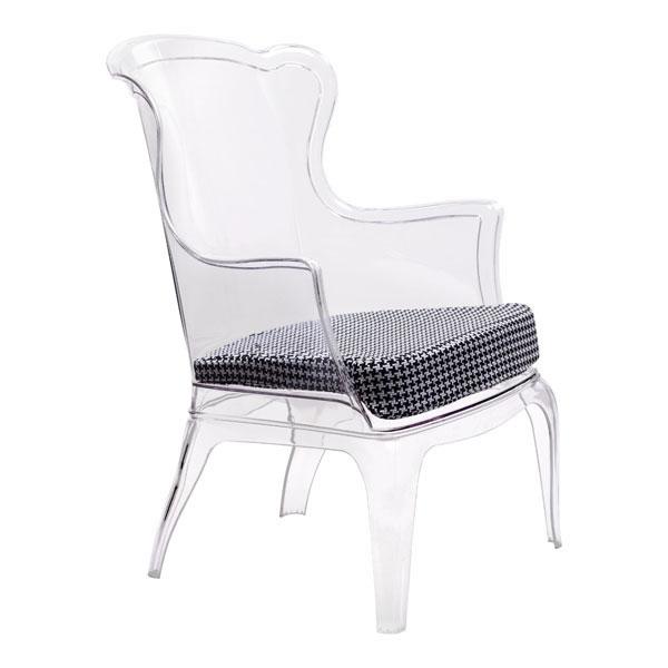 "22.4"" X 21.3"" X 3.9"" Black Vision Polyester Cushion"