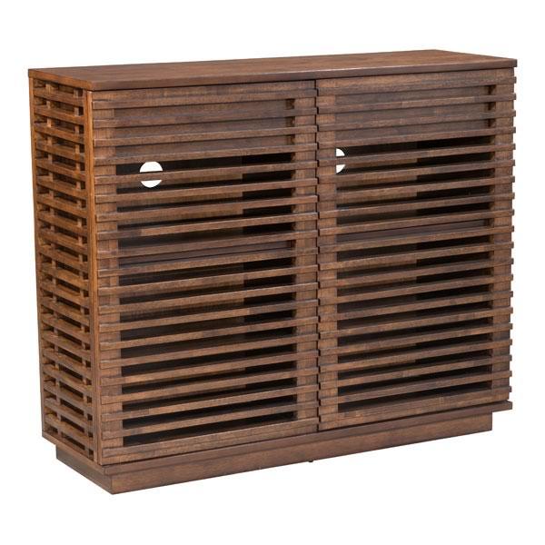 """41.6"""" X 14"""" X 35.1"""" Scandinavian In Design Solid Fir Cabinet"""