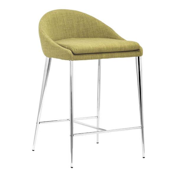 "18"" X 18"" X 30"" 2 Pcs Pea Polyblend Counter Chair"