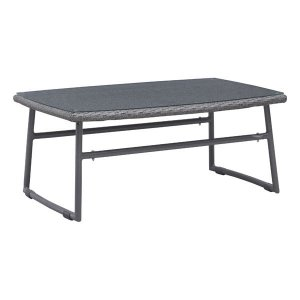 "39.4"" X 23.6"" X 15.8"" Faux Coffee Table"