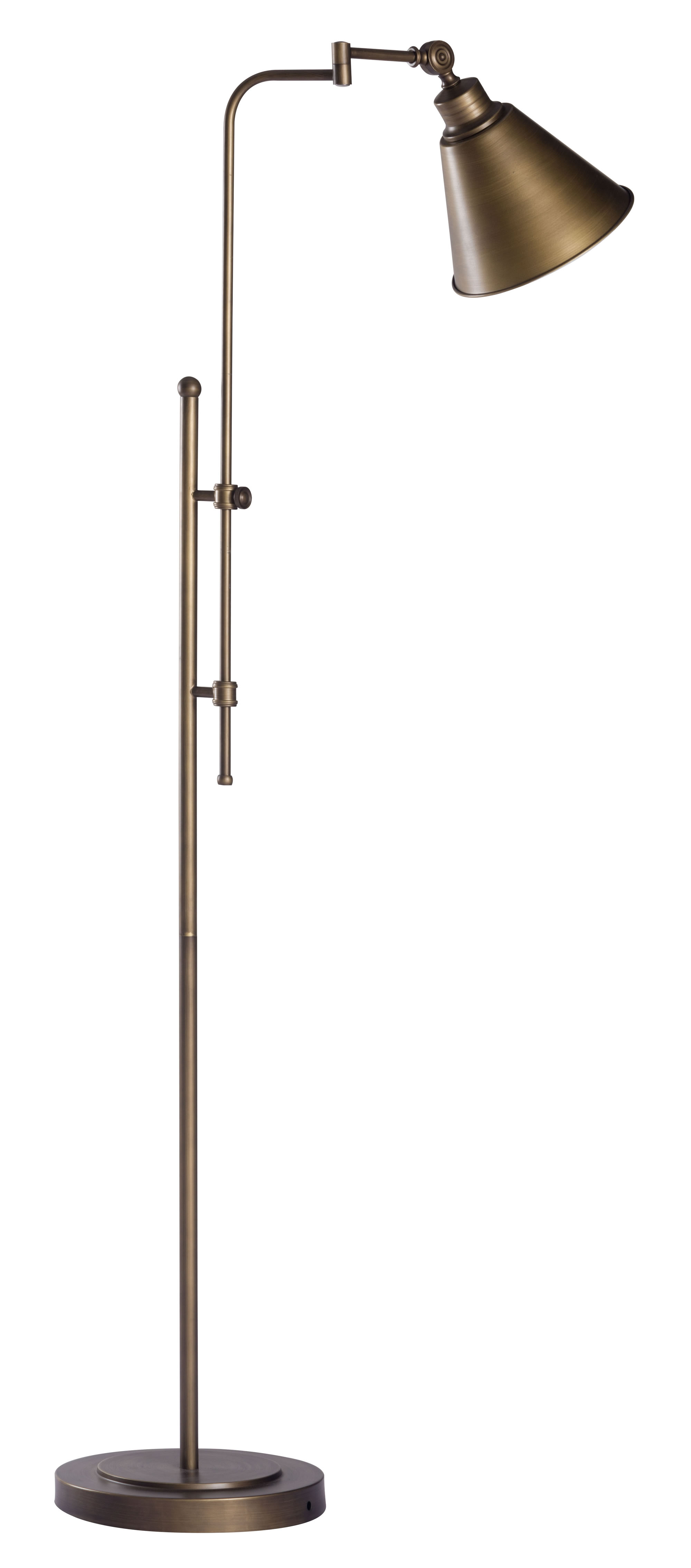 "19.7"" X 19.7"" X 69"" Fabric Floor Lamp"