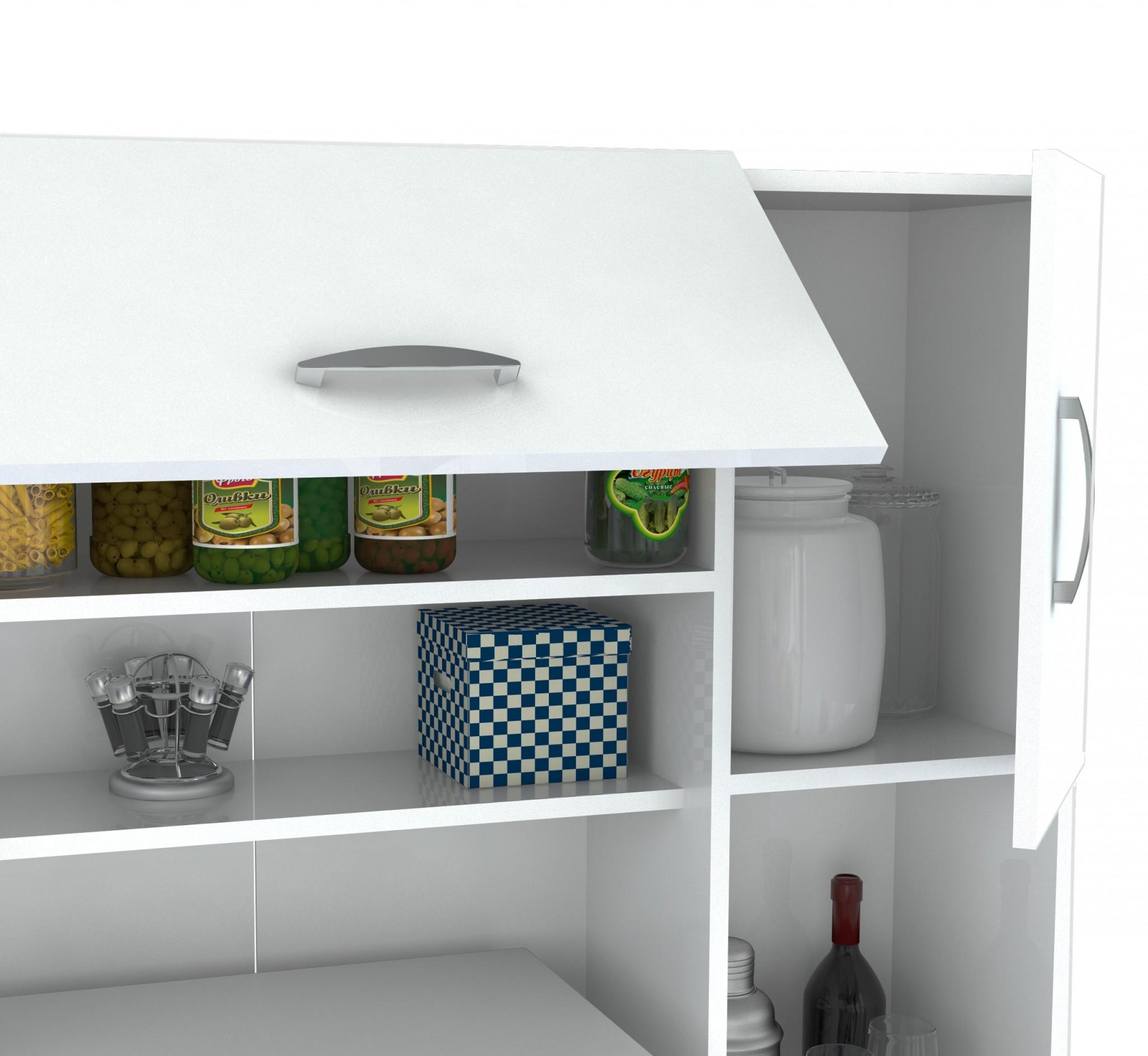 Kitchen Storage Cabinet - Melamine /Engineered woo  sc 1 st  OceanTailer & OceanTailer