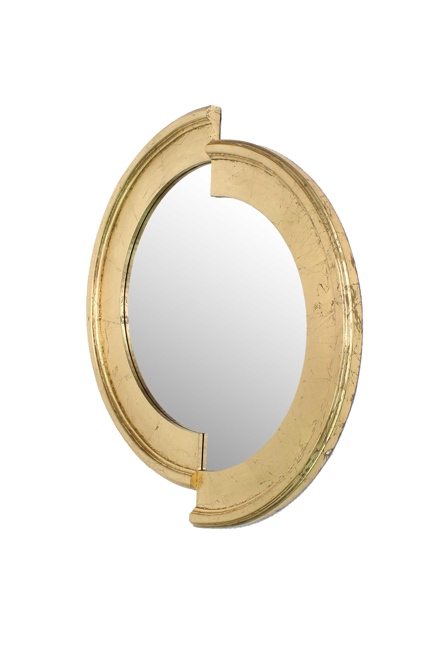 "2"" X 27"" X 30"" Gold Stylish Dressing Mirror"