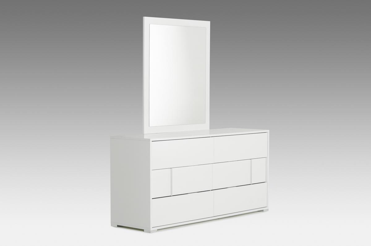 Italian Modern White Dresser