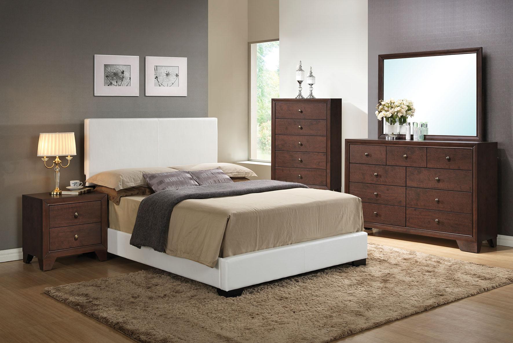 Full Bed (Panel), White Pu