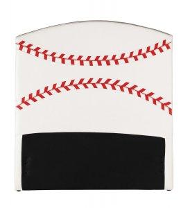 Twin Headboard Only, Baseball - Pu, Wood, Plywood, Fr Foa Baseball
