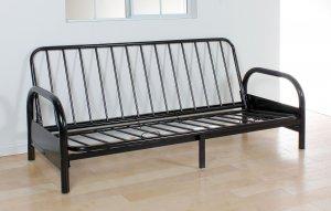 Adjustable Sofa Frame, Black - Metal Frame Black