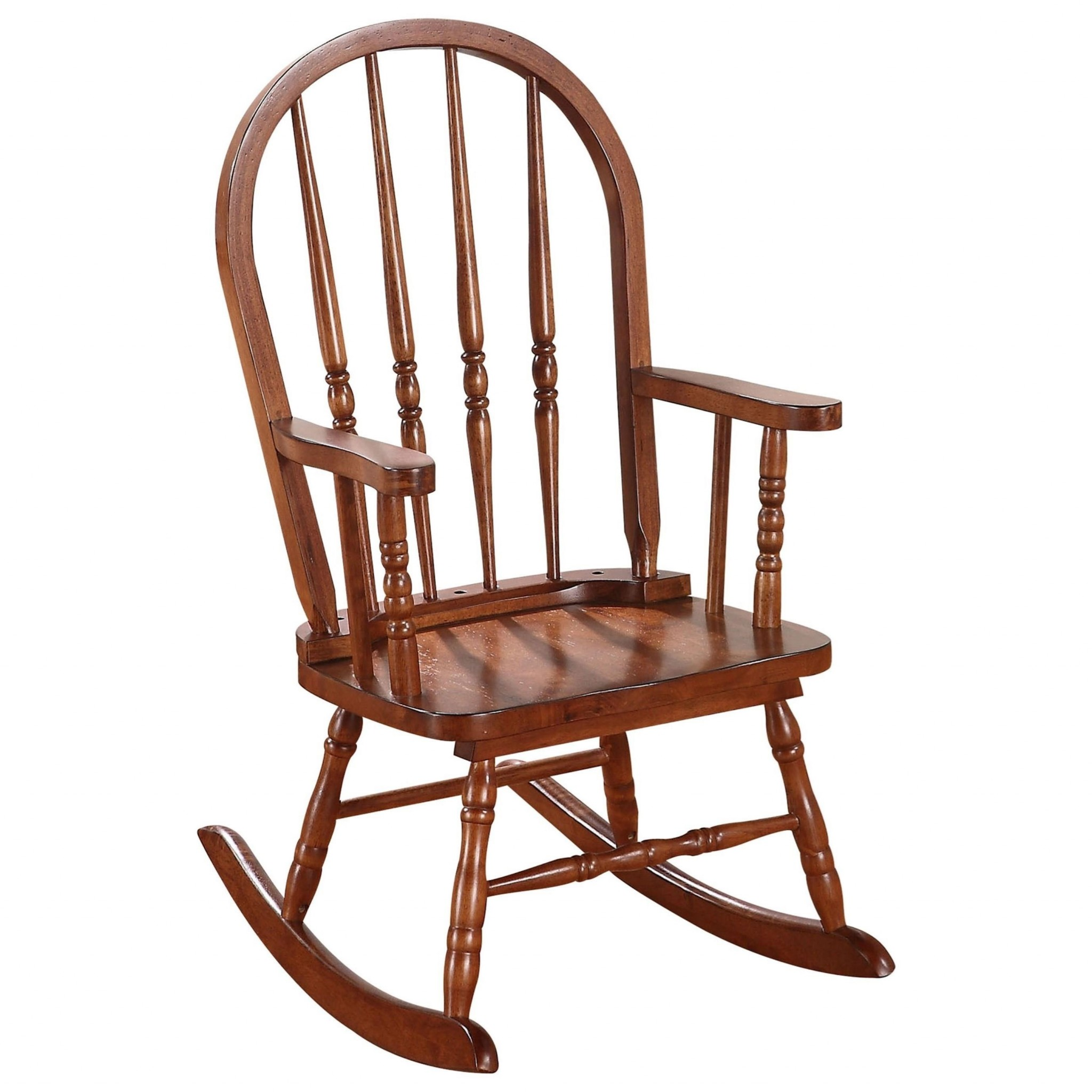 "21"" X 16"" X 28"" Tobacco Youth Rocking Chair"