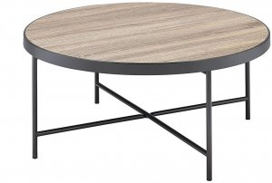 "32'.3"" X 32'.3"" X 15'.75"" Weathered Gray Oak Coffee Table"