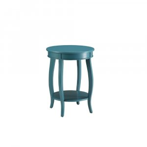 Pop of Color Teal Side or End Table