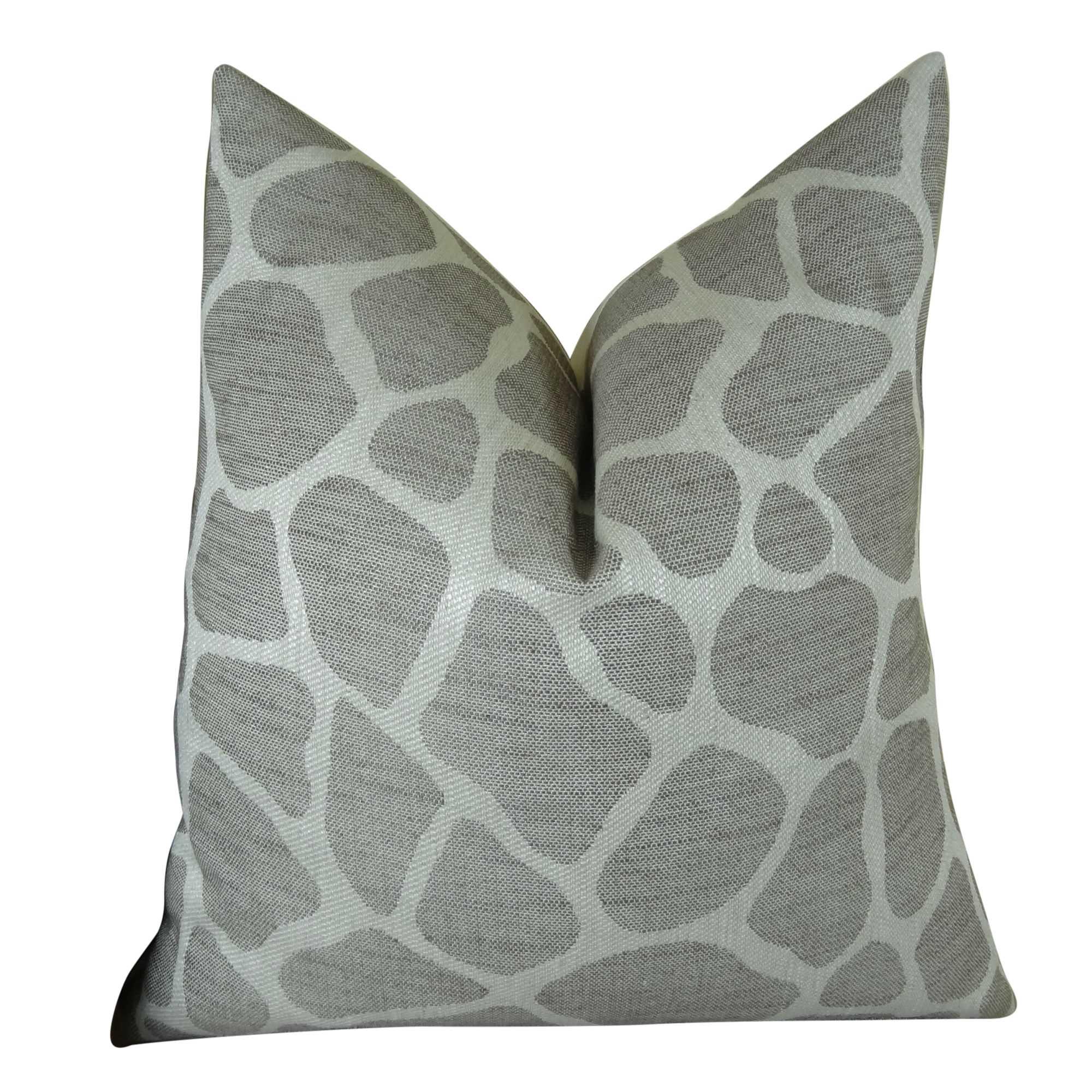 Rocky Way Handmade Throw Pillow