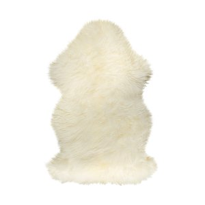 "24"" x 36"" x 1.5"" Natural Single Sheepskin - Area Rug"