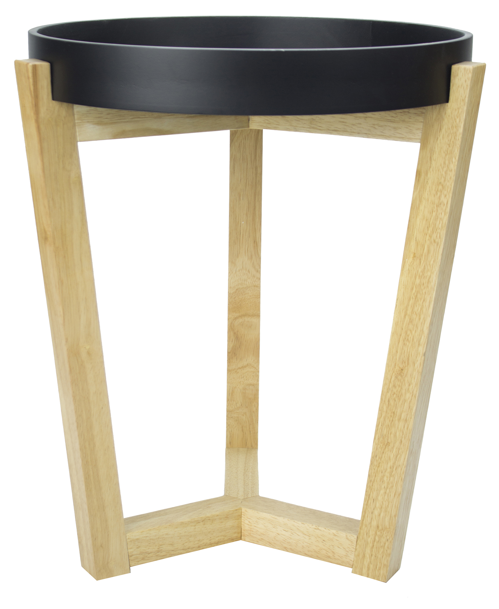 "20"" Black End Table"