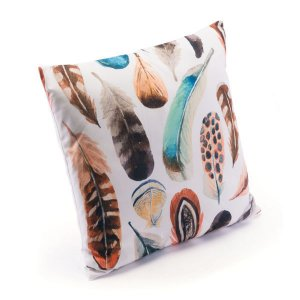 """17.7"""" X 17.7"""" X 1.2"""" Nature-Inspired Multicolor Pillow"""