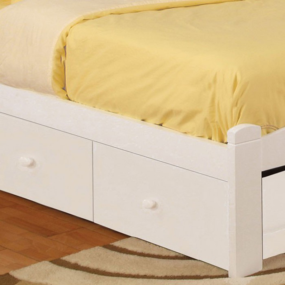 Transitional Drawers, White
