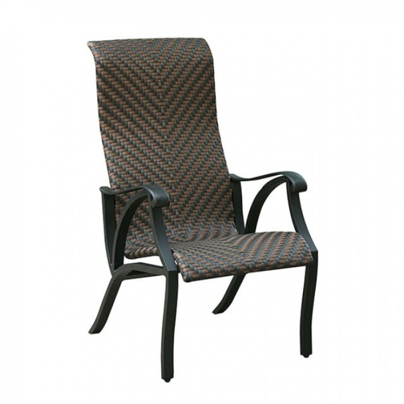 Contemporary Metal Arm Chair With Wicker, Set Of 2