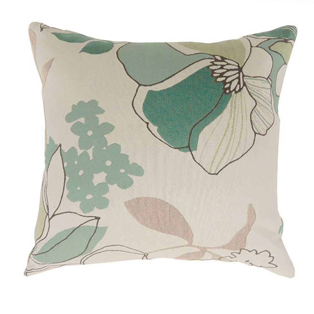 Contemporary Small Pillow With Fabric, Multicolor Finish, Set of 2