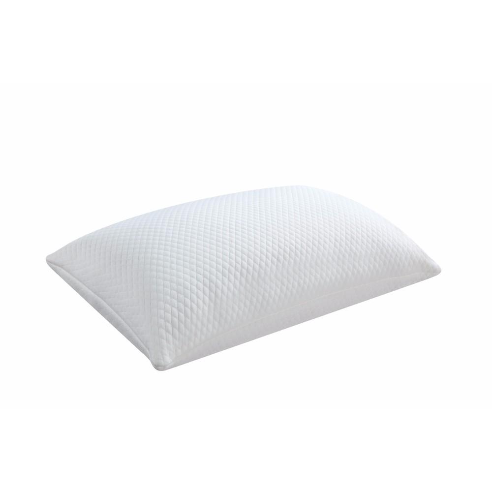 Queen Classic Memory Foam Pillow, White