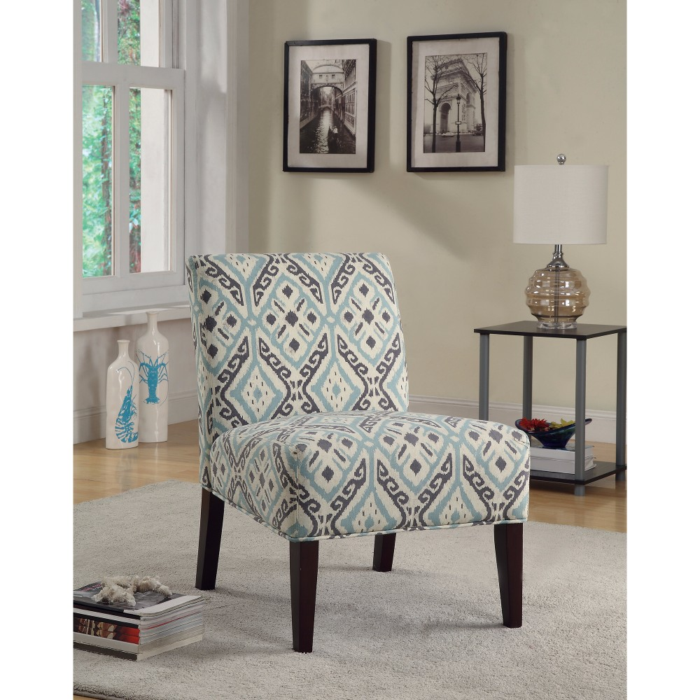 Elegantly Fashioned Accent Chair, Multicolor