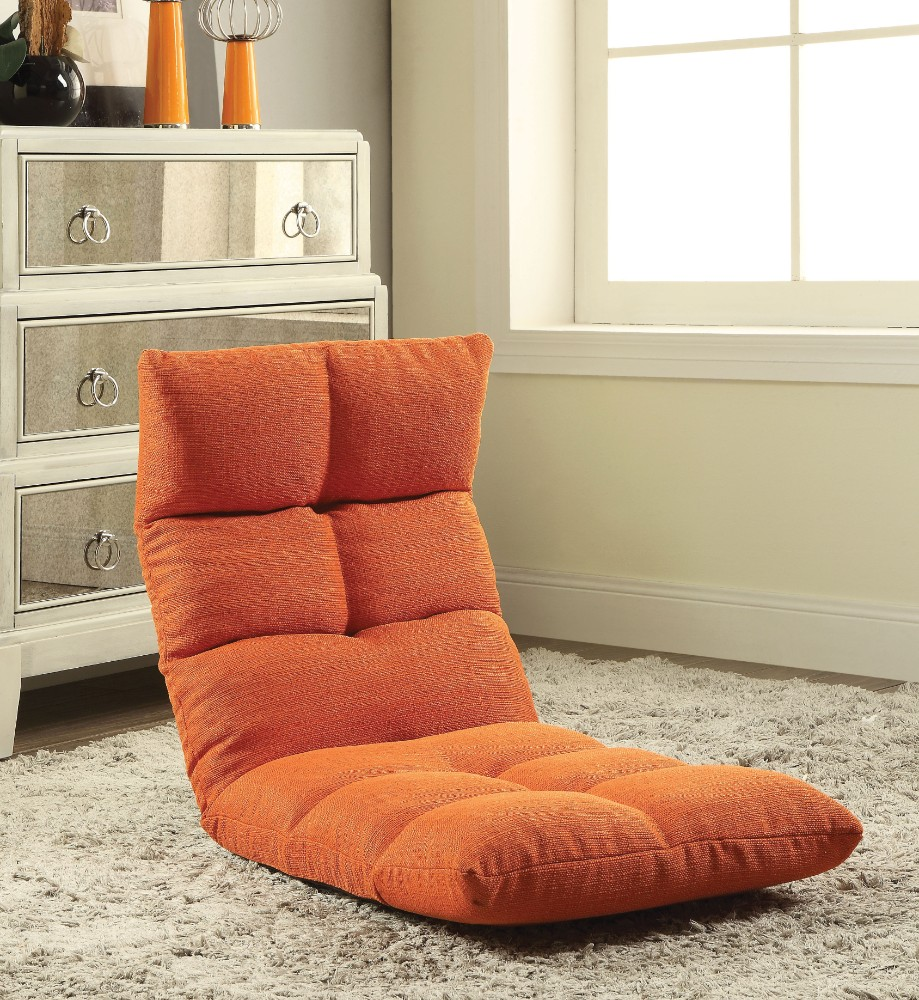 Enthusiastic Metal & Fabric Game Chair, Orange