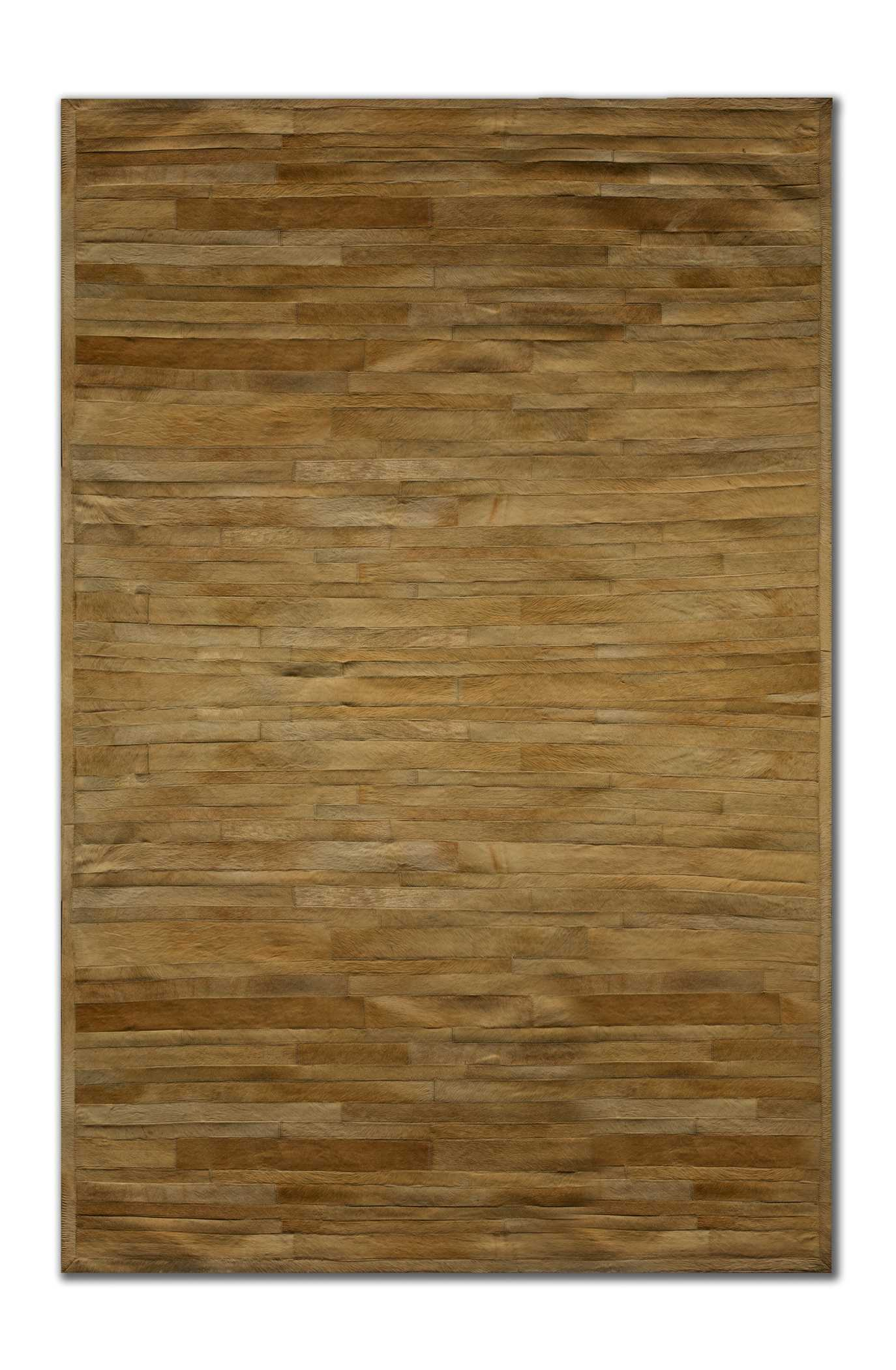 8' X 5' X 5' Tricolor 4' Sq Patches Cowhide Area Rug