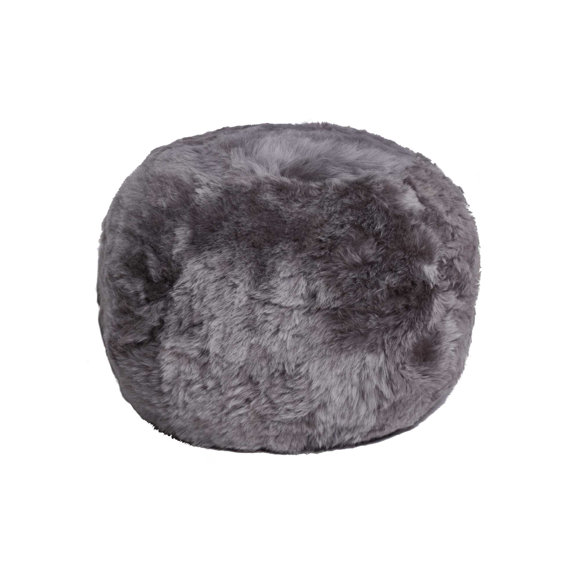 "14"" x 14"" x 11"" Brisa Short-Hair Sheepskin - Floor Cushion"