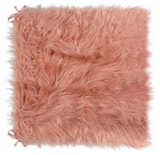 "16"" X 16"" Dusty Rose Laredo Seat Cushions Db1708"
