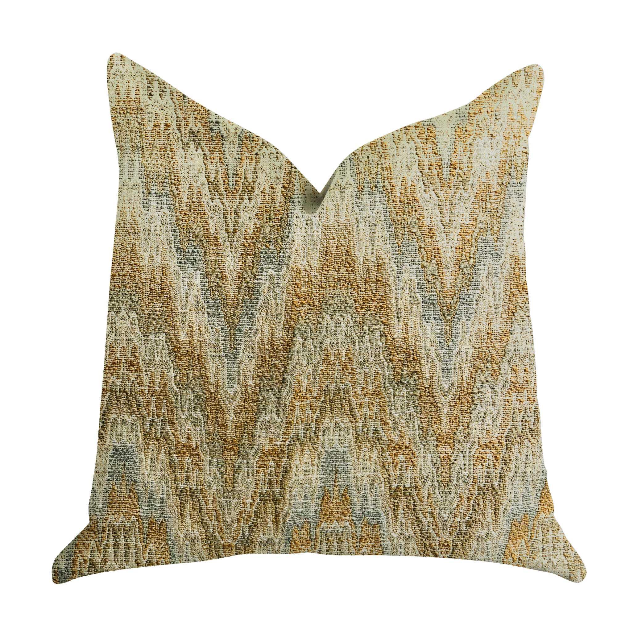 Designer Ripple Luxury Throw Pillow 20in x 30in