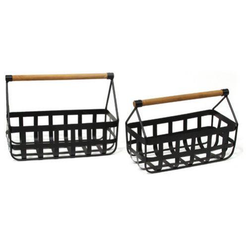 Modern Farmhouse Basket Set