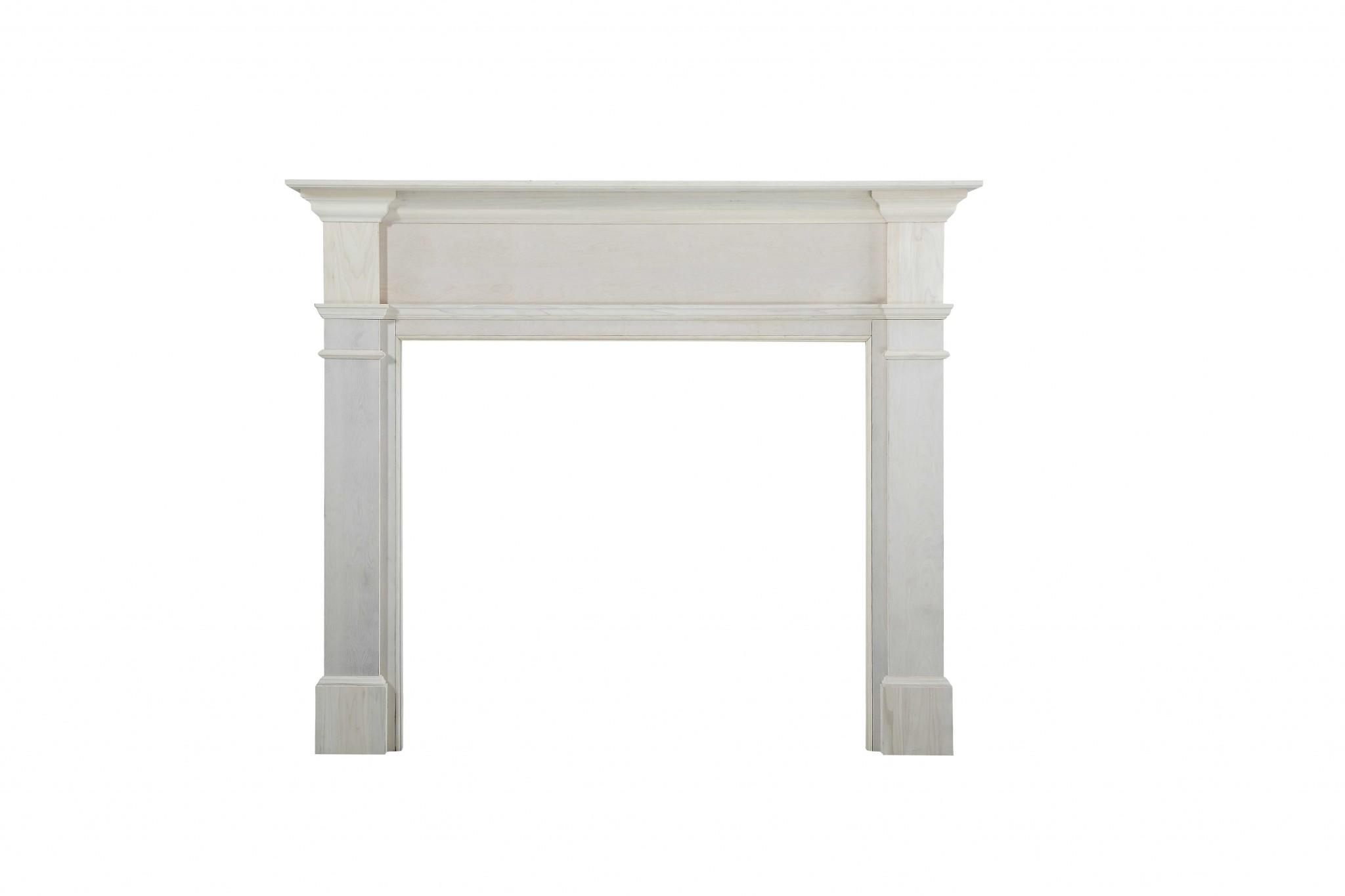 """71.5"""" Unfinished Wood Mantel Shelf"""