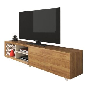 """78.74"""" X 19.71"""" X 19.68"""" Modern TV Stand With Silicone Wheels"""