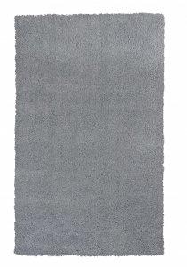 9' x 13' Grey Indoor Shag Rug