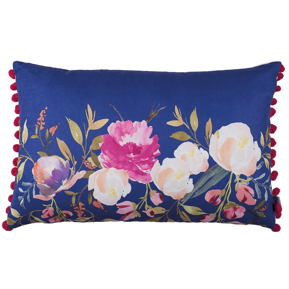 "20""x 12"" Flower Rectangle Vase Printed Decorative Throw Pillow Cover"