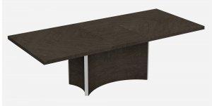 "98.5"" X 4.35"" X 30"" Gray  Dining Table"
