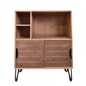 """16"""" x 31"""" x 39"""" Brown, Wood, Cabinet/Storage"""