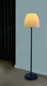 """12"""" X 13"""" X 60"""" Metal Floor Lamp"""
