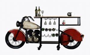 """18"""" X 93"""" X 39"""" Glider Bike Bar"""