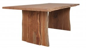 Solid Acacia Wood Live Edge Dining Table