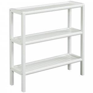 White Versatile Shoe Rack Shelving Unit