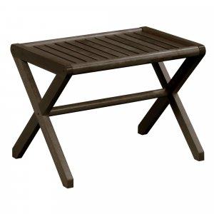 Espresso Finish Wood Bench